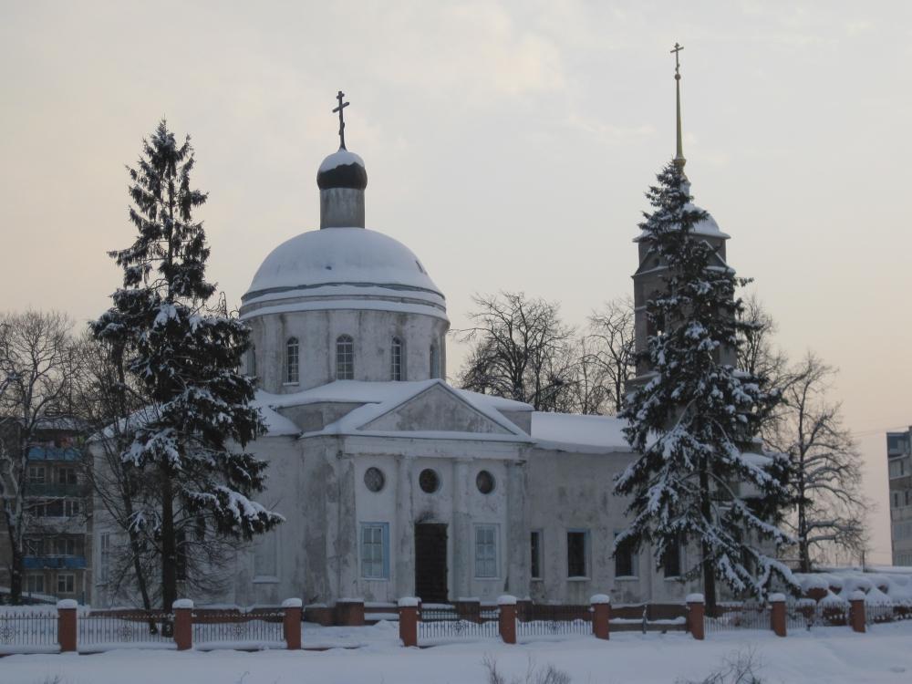 Храм свт. Василия Великого в с. Васильевское